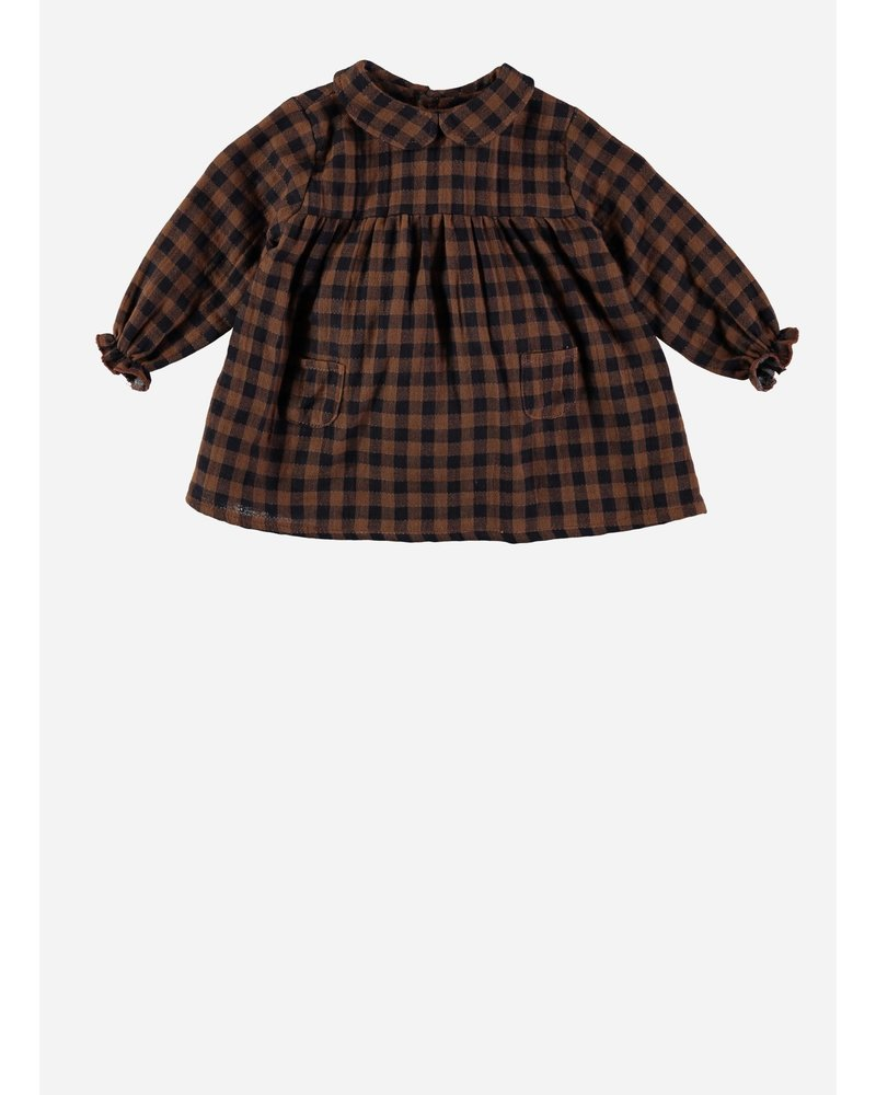 Buho clementine baby collar dress vichy