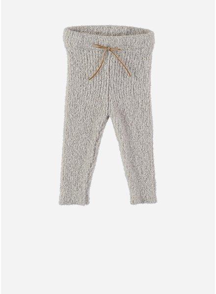 Buho jess baby terry knit legging ecru