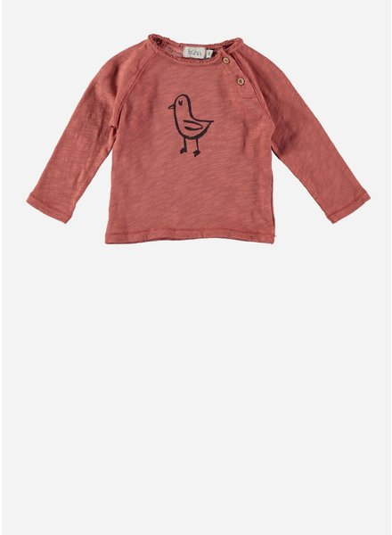 Buho lenny chick t-shirt rose dawn