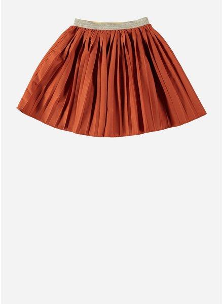 Buho iris pleated skirt rose dawn