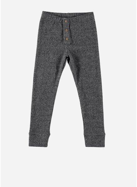 Buho tom soft rib legging grey
