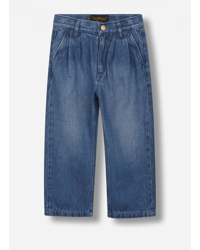 Finger in the nose rosy - tapered fit jeans - medium blue