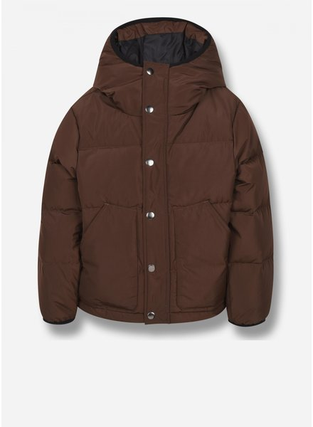 Finger in the nose snowflow - down jacket - brown