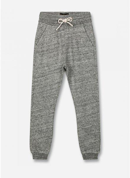 Finger in the nose sprint - fleece jogging pants - heather grey