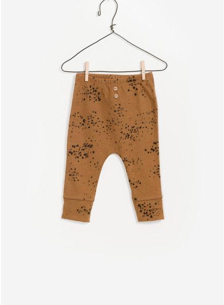 Play Up baby printed jersey legging - mustard