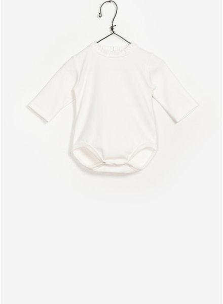 Play Up baby rib bodysuit - creme