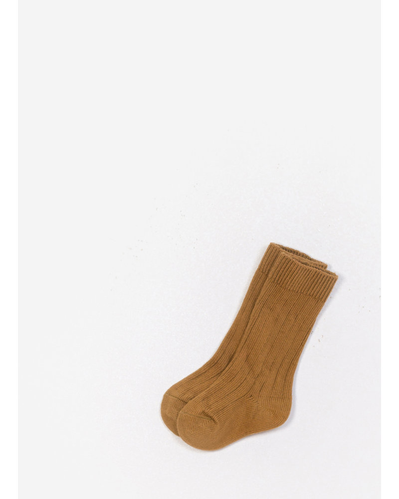Play Up baby socks - mustard
