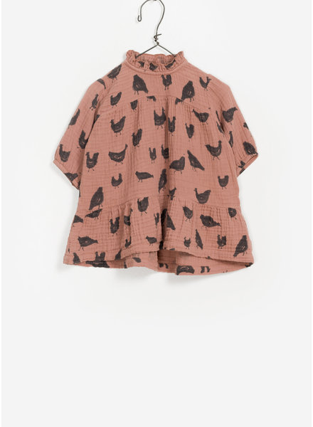 Play Up baby printed woven dress - jam