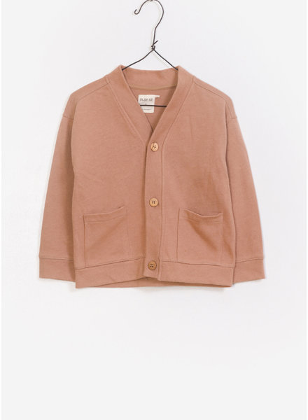 Play Up jersey jacket - light pink