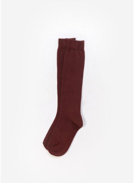 Play Up socks - dark red