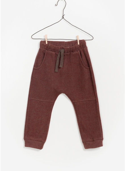 Play Up double face trousers - dark red