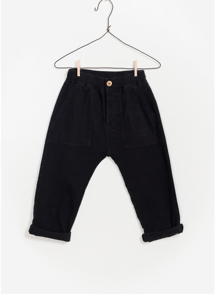 Play Up twill trousers - black