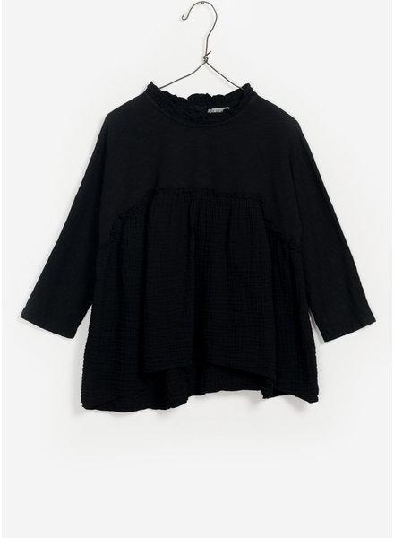 Play Up mixed tunic - black