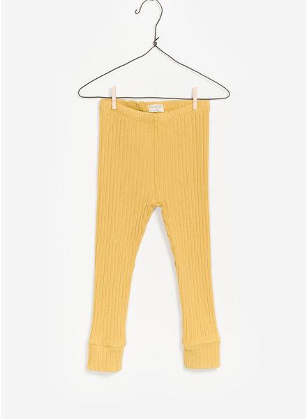 Play Up ribbed rib legging - geel