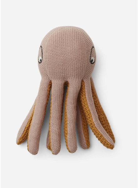 Liewood ole knit mini teddy octopus rose