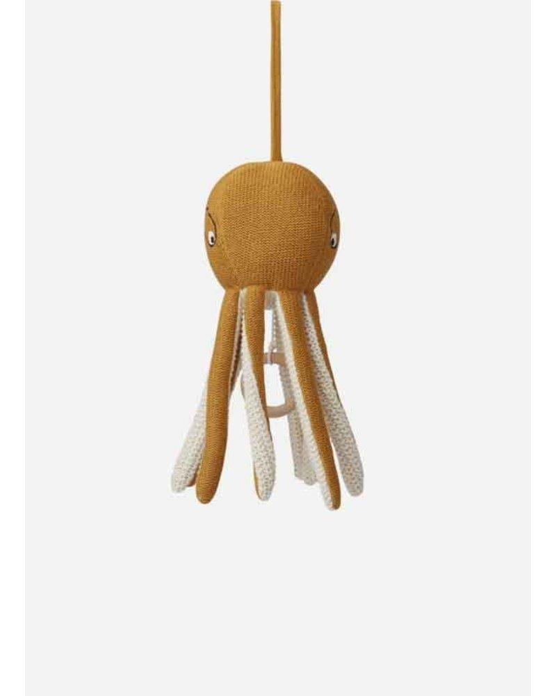 Liewood angela music mobile octopus mustard