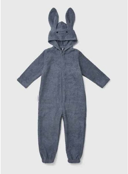 Liewood taylor jumpsuit rabbit blue wave