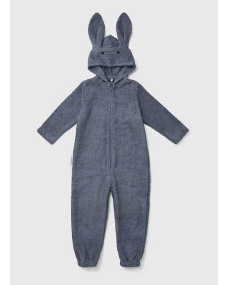 Liewood taylor jumpsuit rabbit blue wave