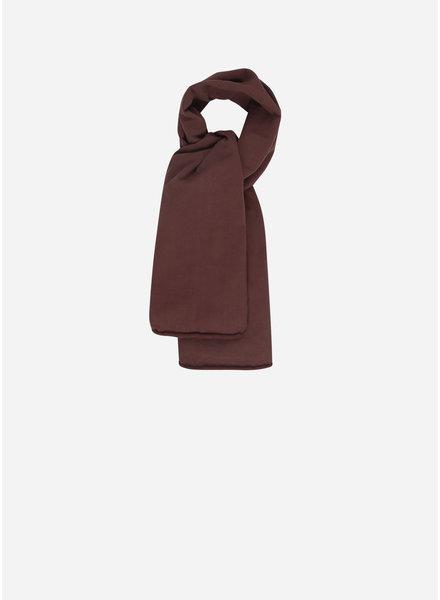 Mingo scarf bitter chocolate