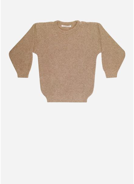 Mingo sweater knit sand