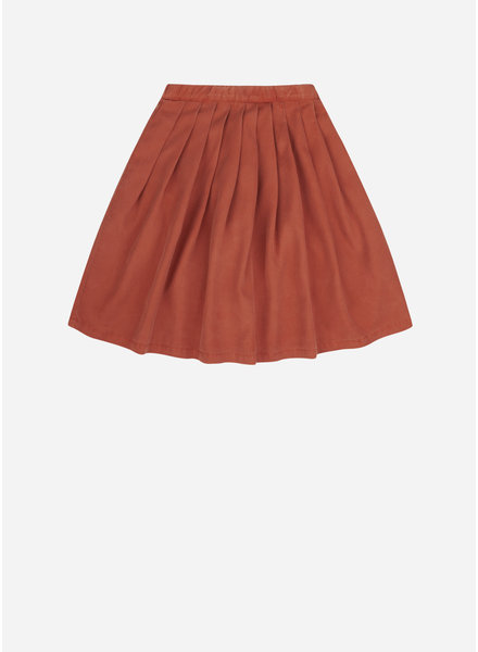 Mingo midi skirt red wood