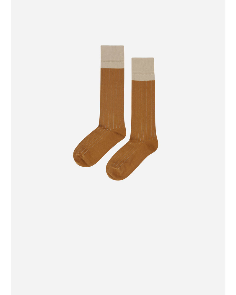 Mingo knee socks sand / sudan