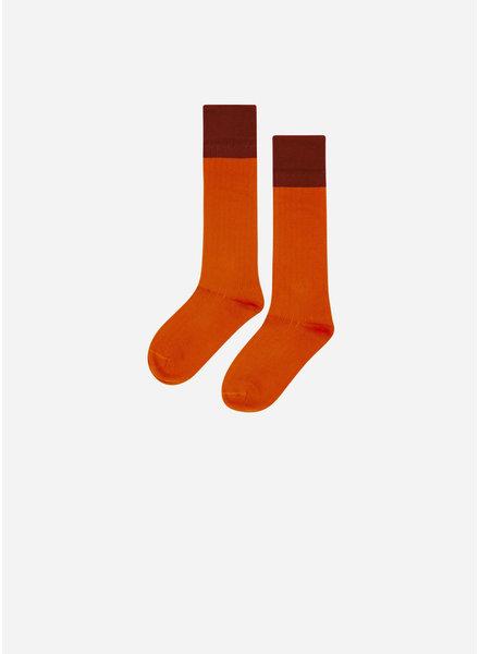 Mingo knee socks bitter chocolate / cinnamon