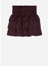 Designer Remix Girls elda ruffle skirt rouge noir