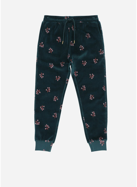 Soft Gallery charline pants, deep tall, aop winterberry