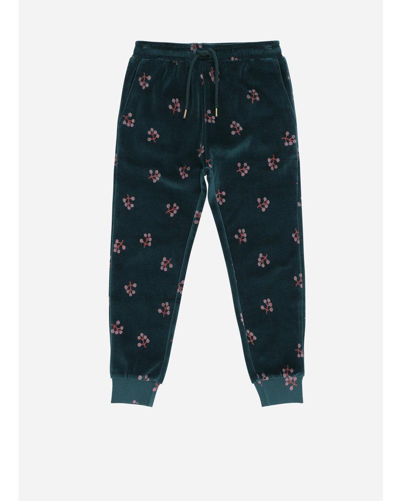 Soft Gallery charline pants, deep tall, aop winterberry