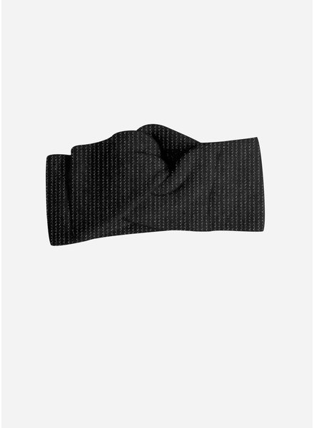 Collegien collegien bandeau zwart glitter