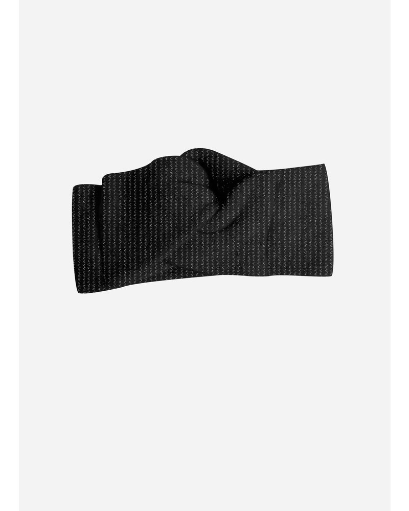 Collegien bandeau zwart glitter