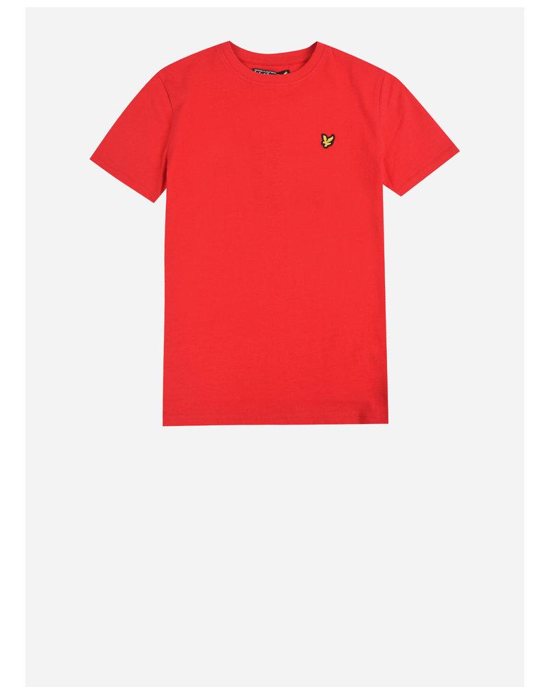 Lyle & Scott classic t-shirt tango red