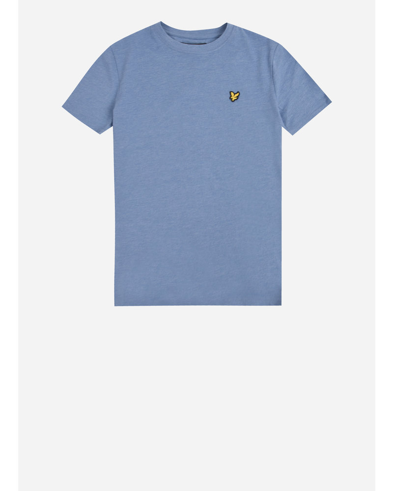 Lyle & Scott classic t-shirt denim blue marl