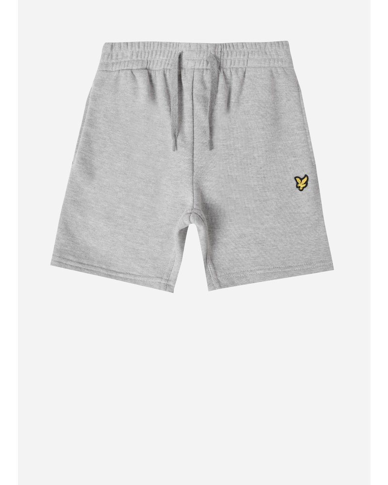 Lyle & Scott classic sweat short vintage grey heather