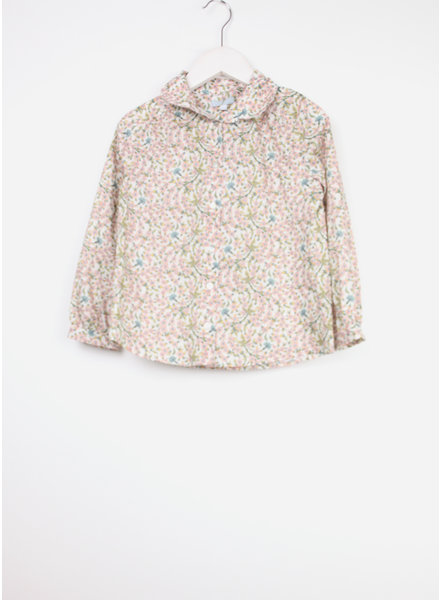 Club Cinq blouse dyon empress pink flower