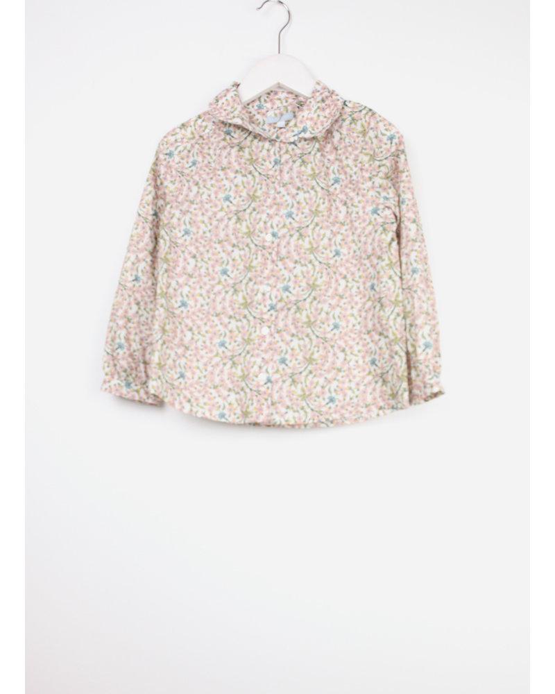 Club Cinq blouse dyon empress pink flower