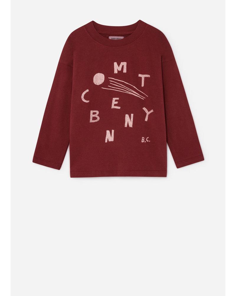 Bobo Choses comet benny l/sl shirt