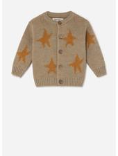 Bobo Choses stars jacquard cardigan
