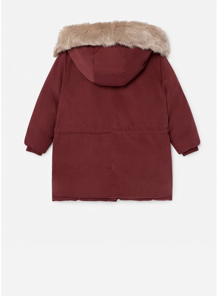 Bobo Choses reversible all over saturn hooded anorak