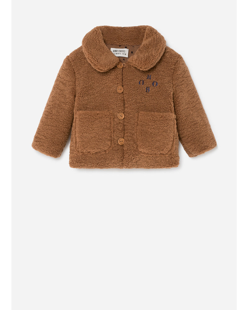 Bobo Choses bobo sheepskin jacket