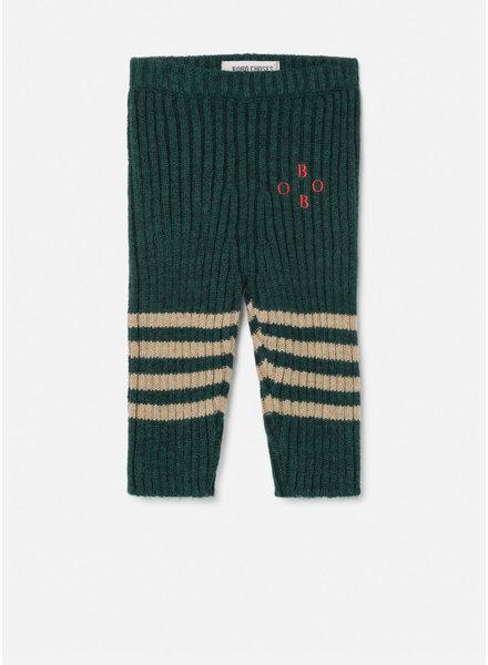 Bobo Choses bobo knee stripes knitted leggings