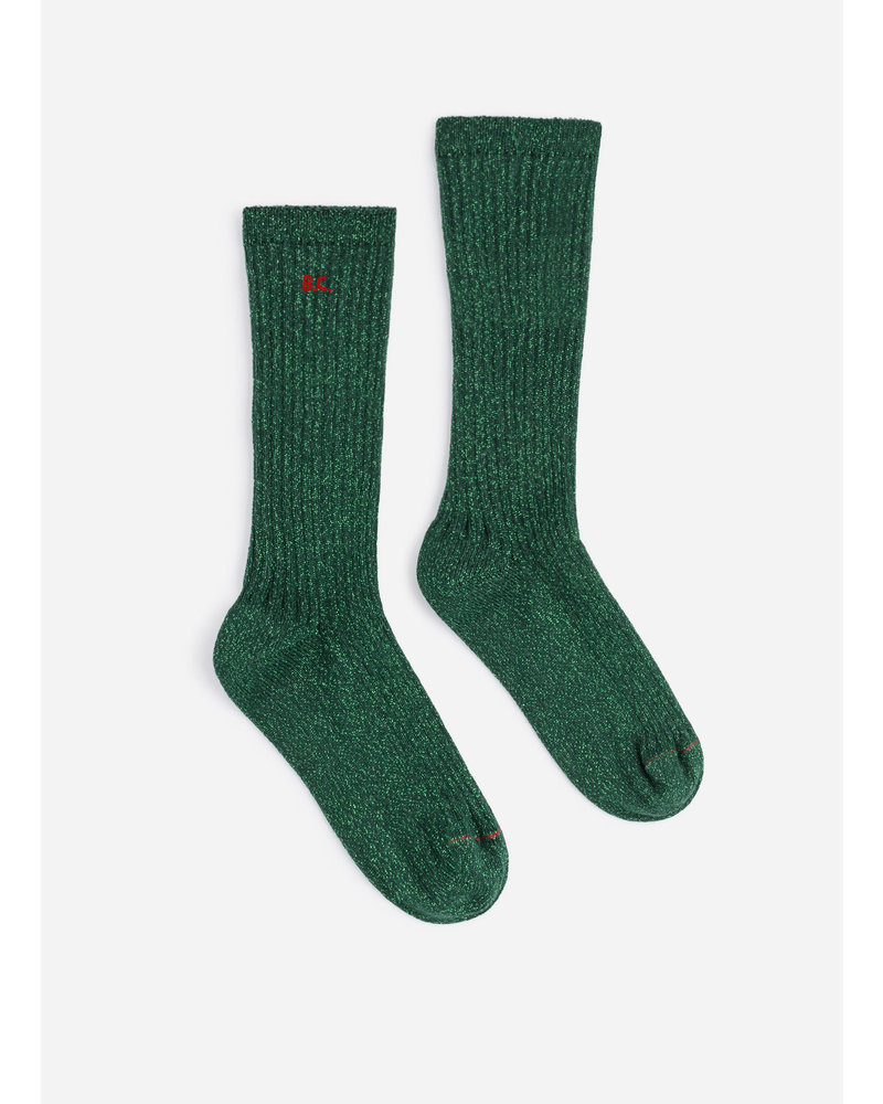 Bobo Choses bc green lurex socks