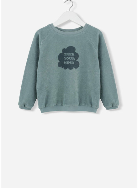 Kids on the moon tree your mind sweater 21C