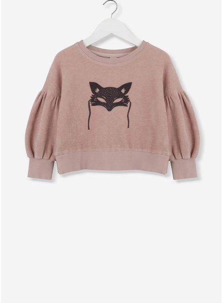 Kids on the moon mask sweater 39A