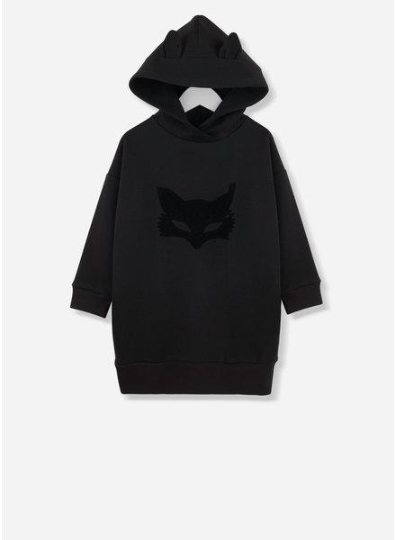 Kids on the moon mask dress with hood 15