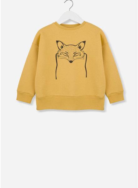 Kids on the moon fox mask sweater 21B