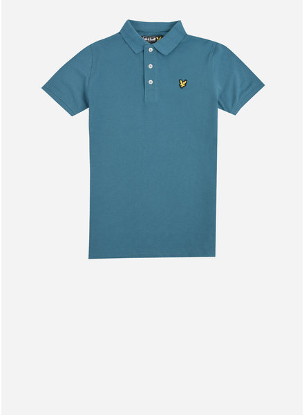Lyle & Scott classic polo shirt dragonfly