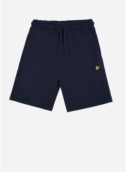 Lyle & Scott classic sweat short navy blazer