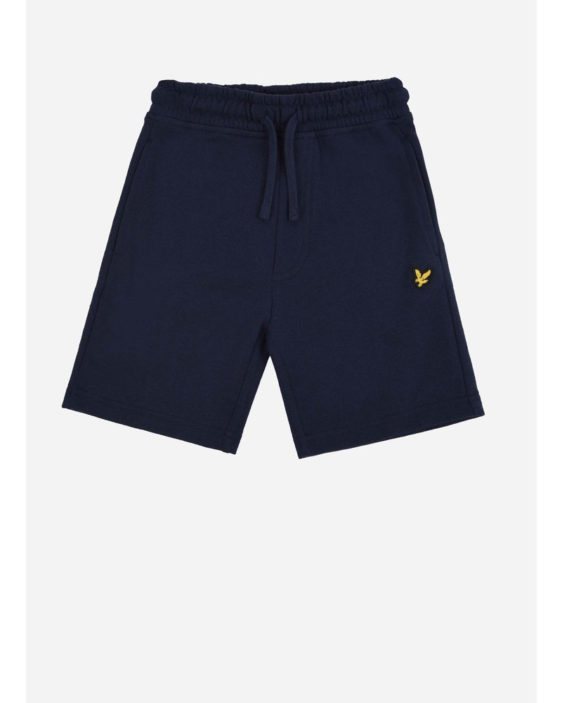 Lyle & Scott classic sweat short navy blazer